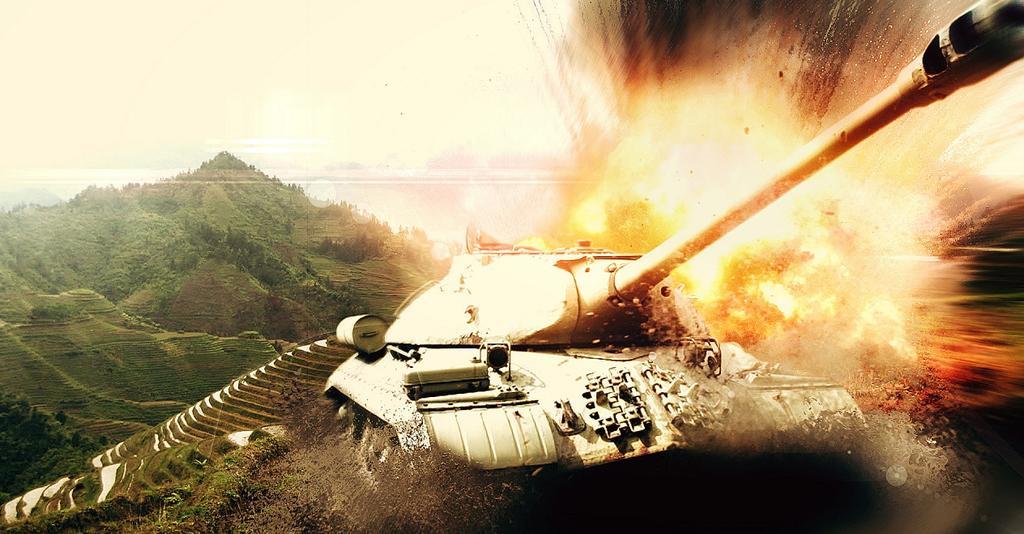 Живые обои для рабочего стола world of tanks 4