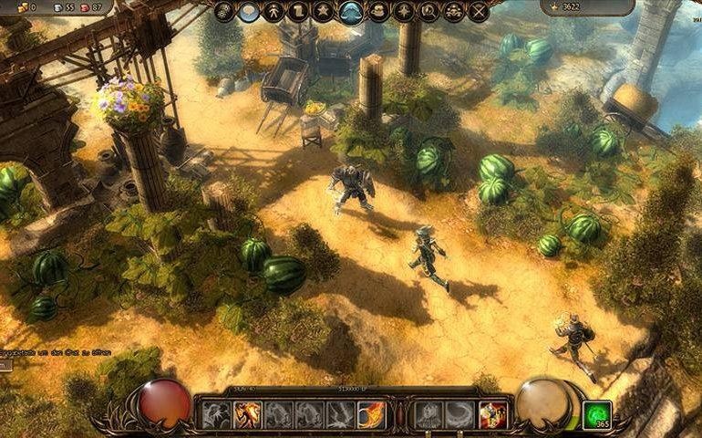 Бесплатная браузерная ММОРПГ-игра Drakensang Online
