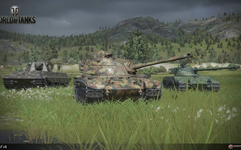 Приставочная версия World of Tanks для PS4 выходит в начале декабря.