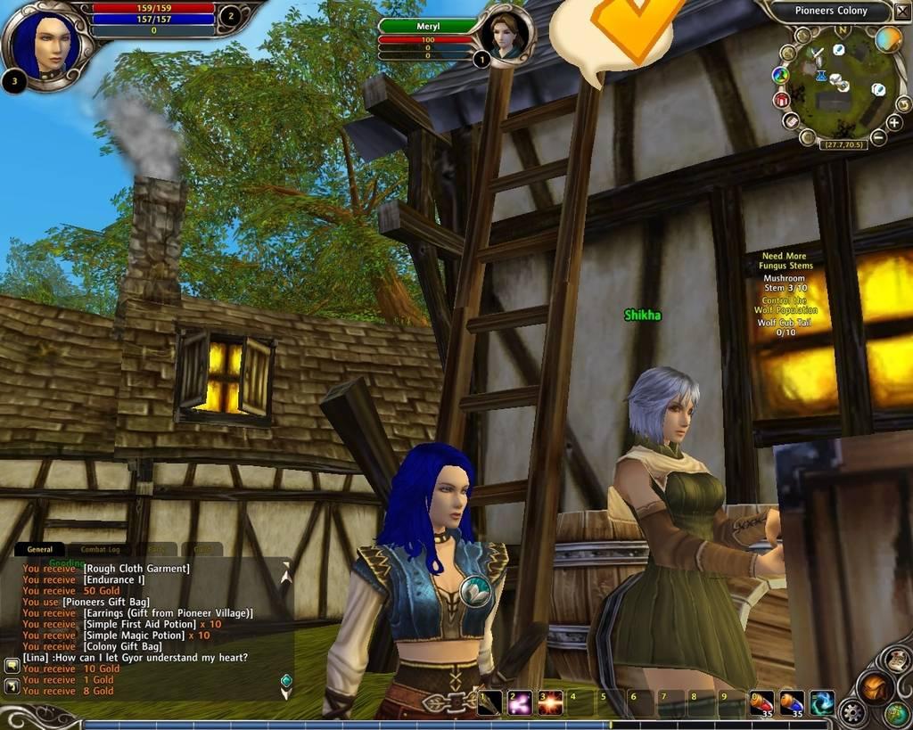 Ролевая онлайн игра Руны магии