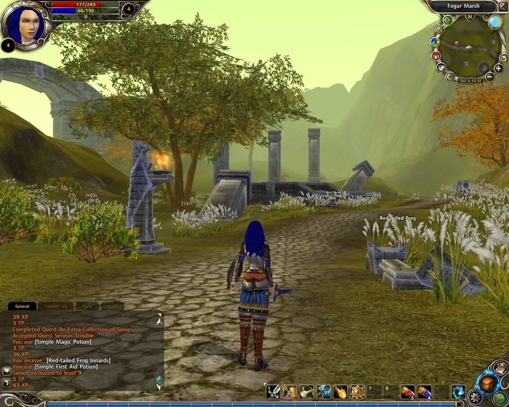 Руны Магии - скриншот из ролевой онлайн-игры