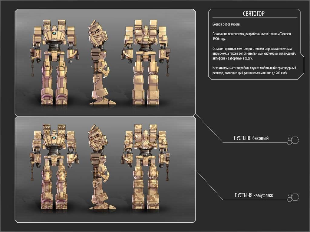 Tech Wars - роботы в будущем станут разнообразнее
