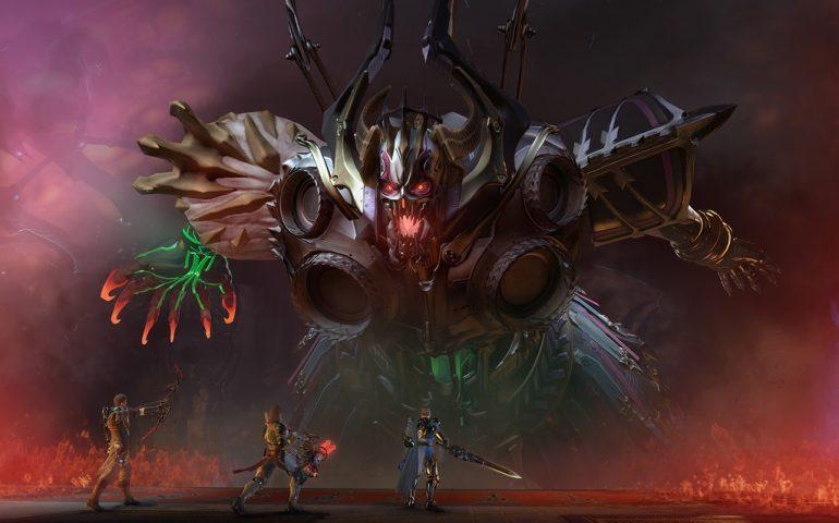 В Skyforge новое вторжение - на Элион напали жнецы смерти со своим аватаром Танатосом