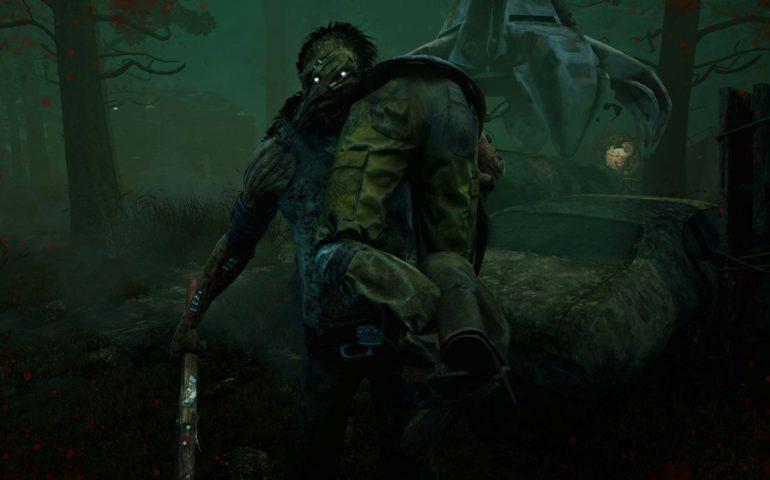 Онлайн-хоррор Dead By Daylight - четыре жертвы прячутся от маньяка