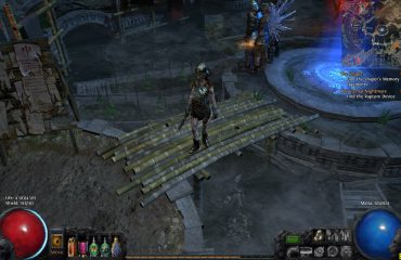 Path of Exile - ведьма с мечепадом