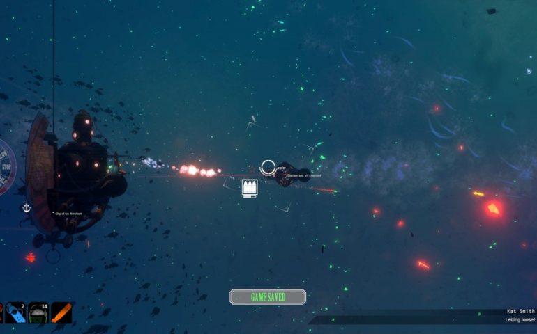 Diluvion - приключенческая игра о путешествиях капитана на огромной субмарине по океанским глубинам