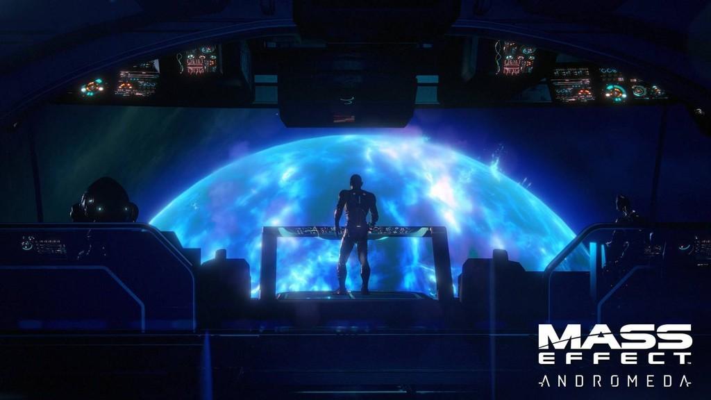 Mass Effect Andromeda - слот для оружия