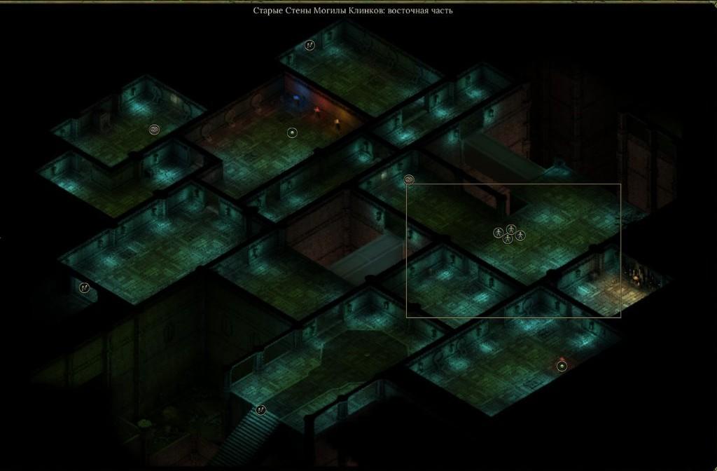 Могильник под шпилем в Tyranny - это множество комнат и несколько этажей