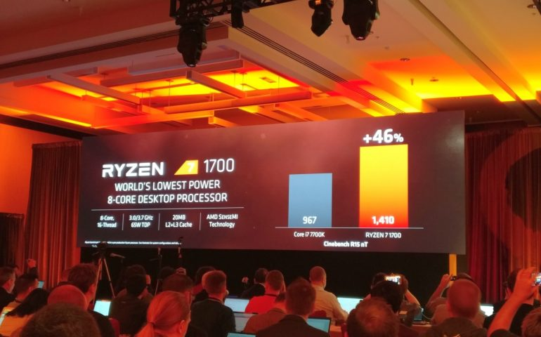 AMD представила процессоры Ryzen 7.
