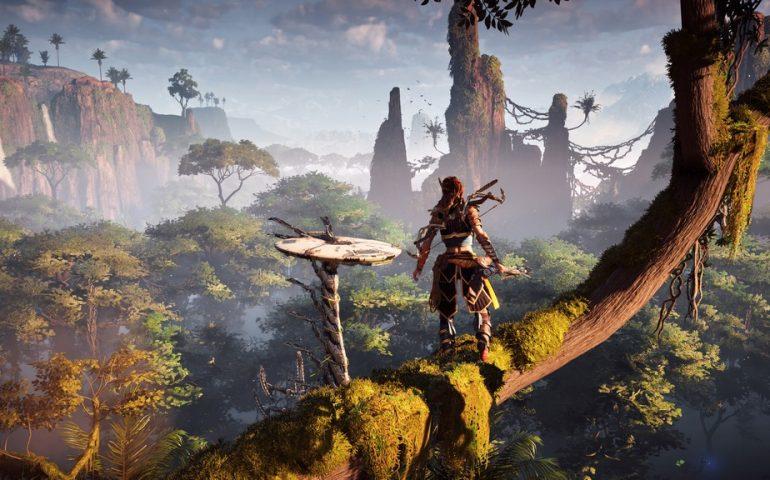 Один из эксклюзивов для PS4 - приключенческий экшен Horizon Zero Down о рыжеволосой воительнице Элой.