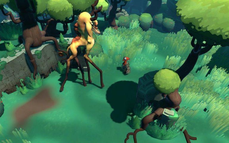 Платформер Hob создает студия Runic Games, известная по диаблоиду Torchlight.