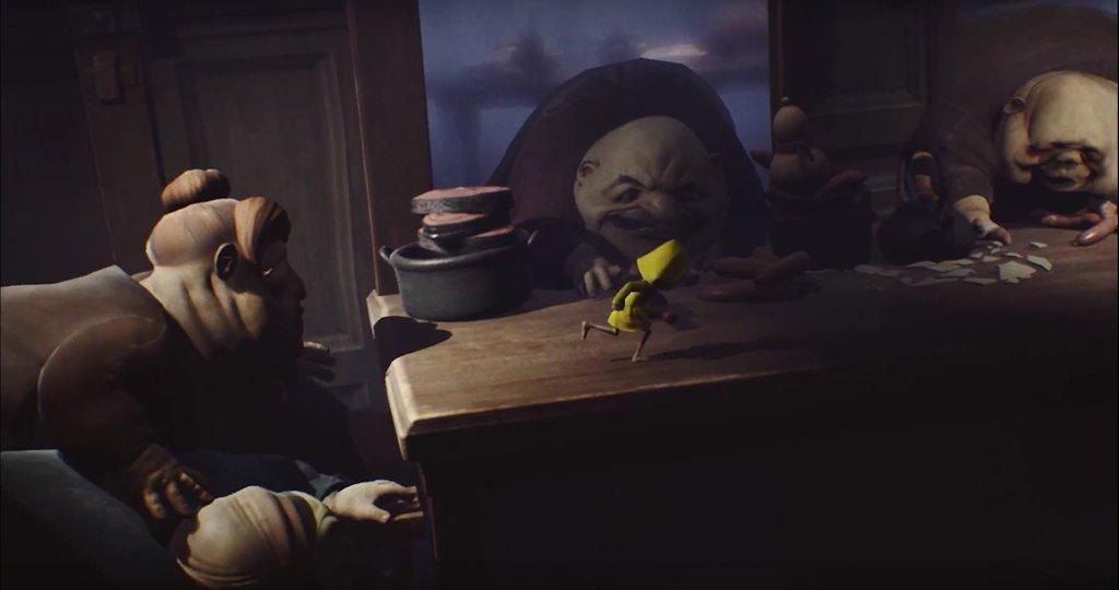 Little Nightmare - Шестой не хочется стать ужином