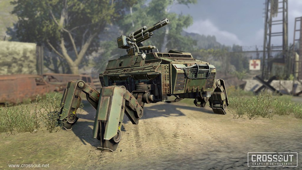 Crossout playstation