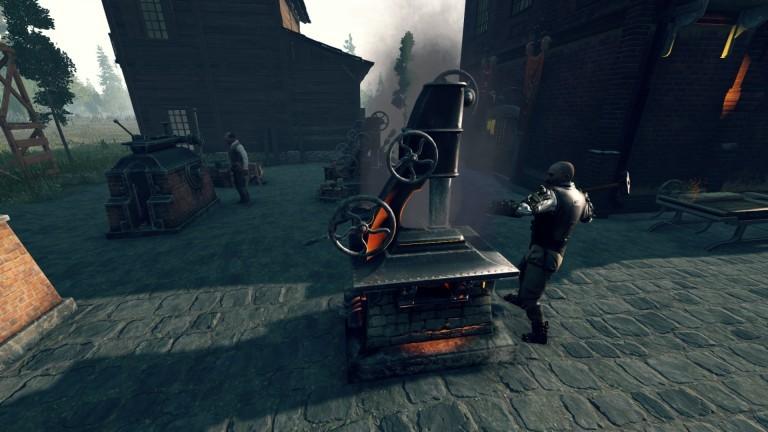 Steam Hammer в раннем доступе и доступен с небольшой скидкой до 19 мая.