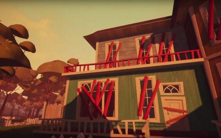 """tinyBuild Games показала бета-версию """"Привет, соседа"""" Hello neighbor на E3."""