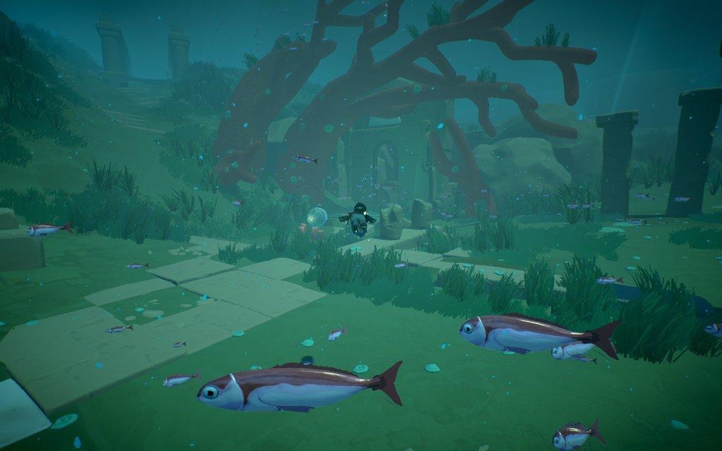 Rime - подводный мир в игре выглядит великолепно.